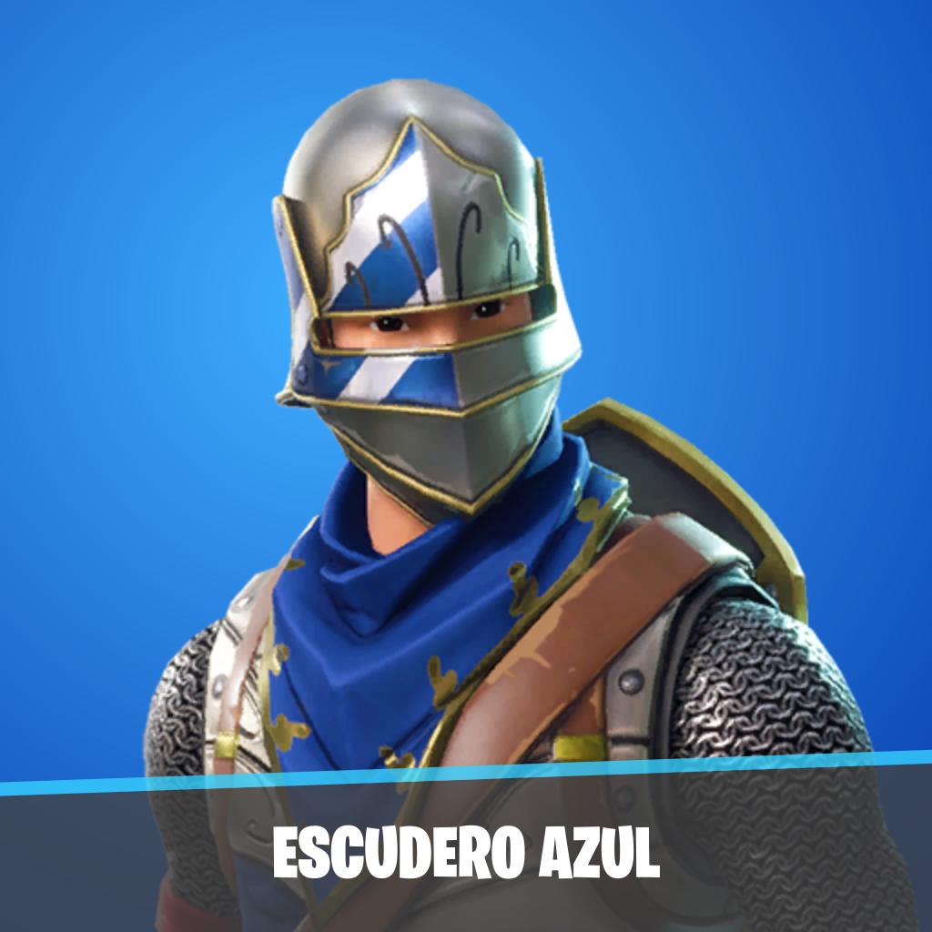 Escudero azul