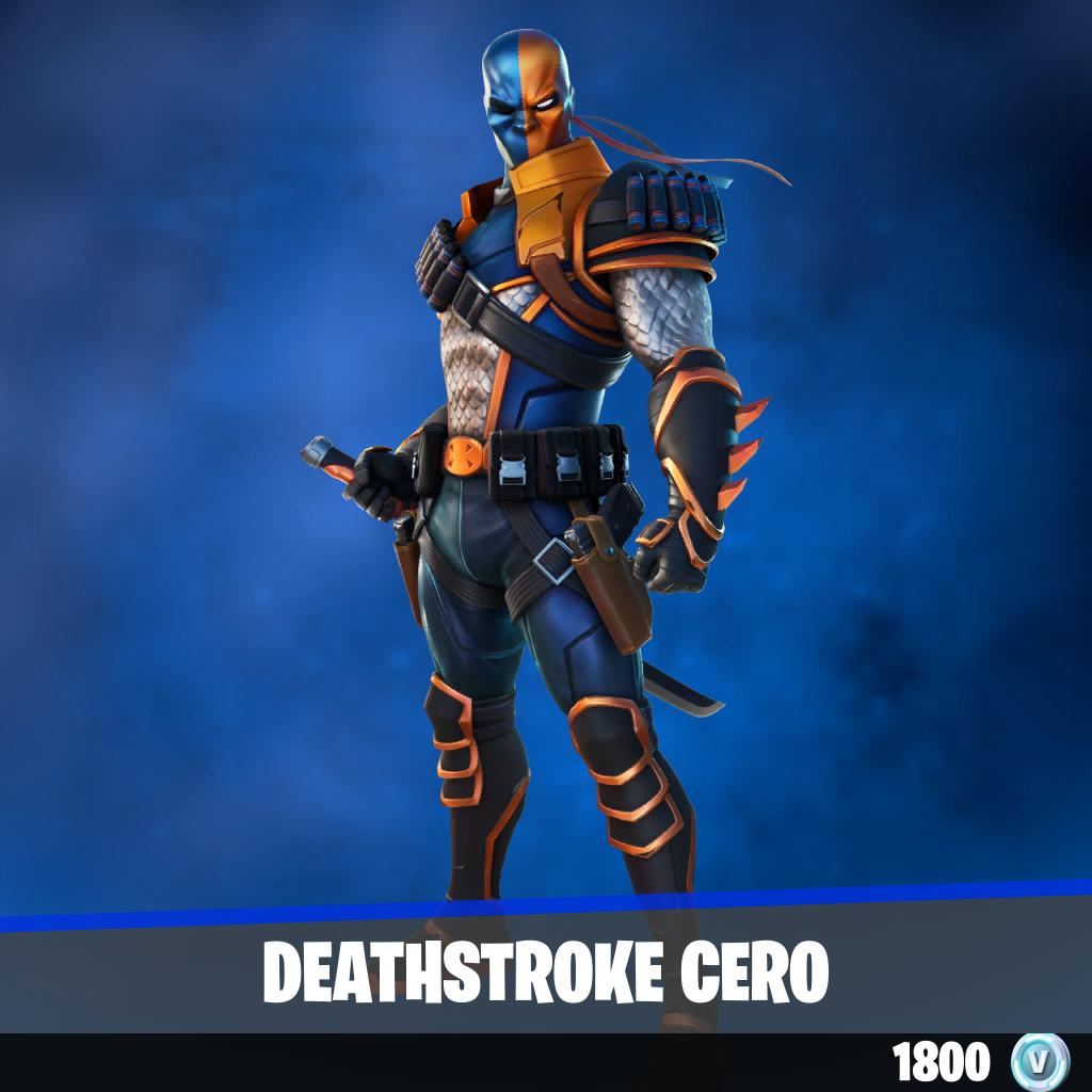 Deathstroke cero