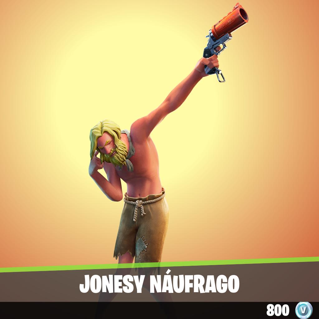Jonesy náufrago