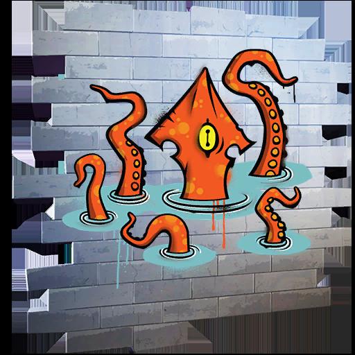 Fortnite Squid Up spray