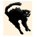 Fortnite Black Cat emoji