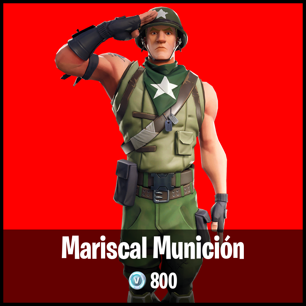 Mariscal Munición
