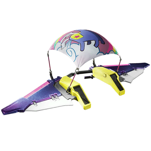 Fortnite Llamacorn Express glider