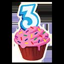 Fortnite Cupcake! emoji
