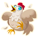 Fortnite Chicken emoji