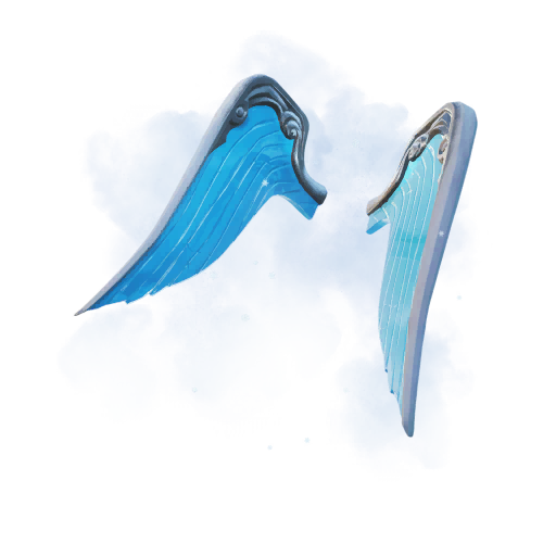 Fortnite Wings of Frost backpack