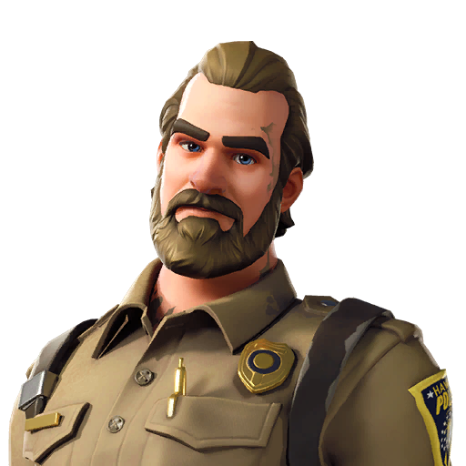 Fortnite Chief Hopper outfit