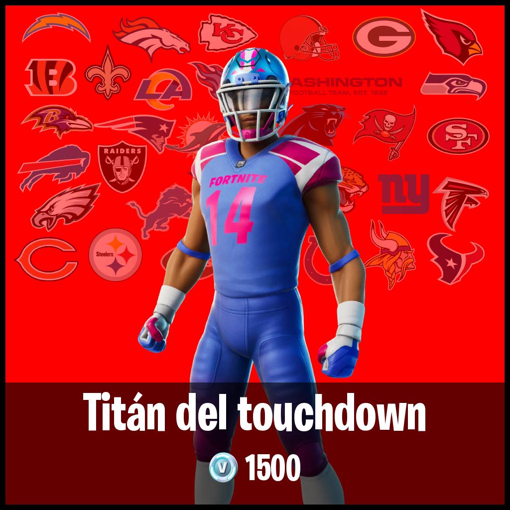 Titán del touchdown
