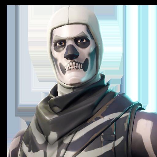 Fortnite Skull Trooper  outfit