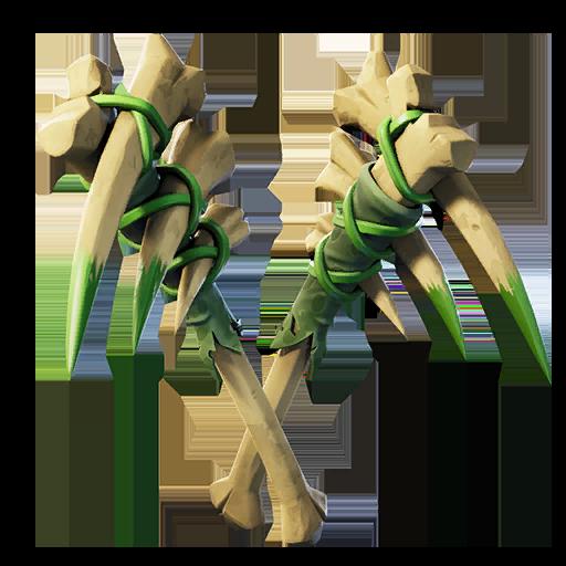 Fortnite Bone Fangs pickaxe