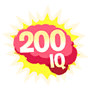 Fortnite 200 IQ Play emoji