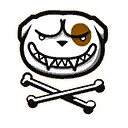 Fortnite Bonedog emoji