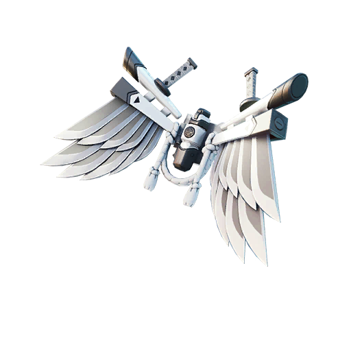 Fortnite Corrupted Bladed Wings backpack