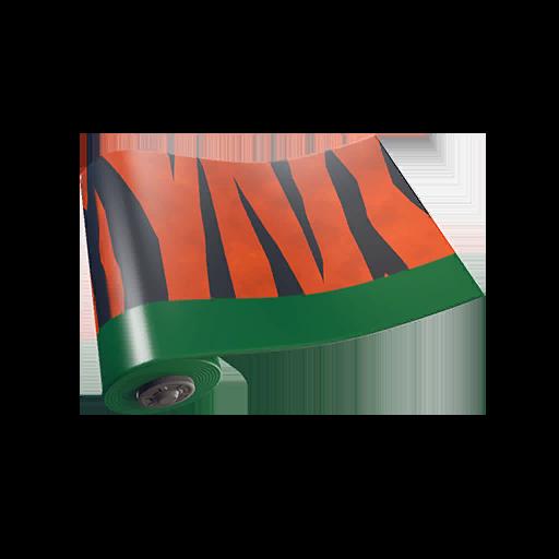 Fortnite Tiger Stripes wrap