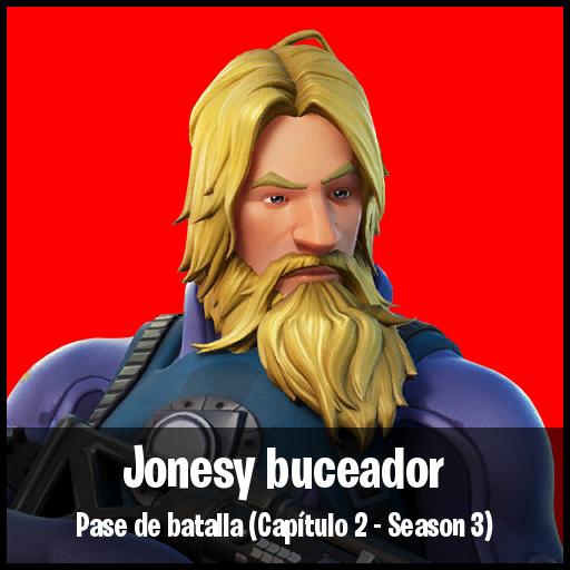 Jonesy buceador