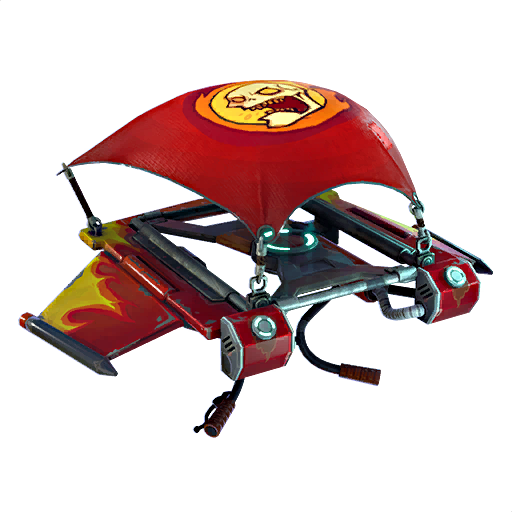 Fortnite Hot Rod glider