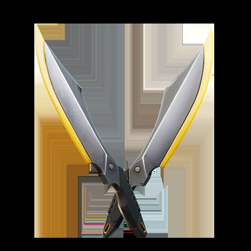 Fortnite Reflex Blades pickaxe