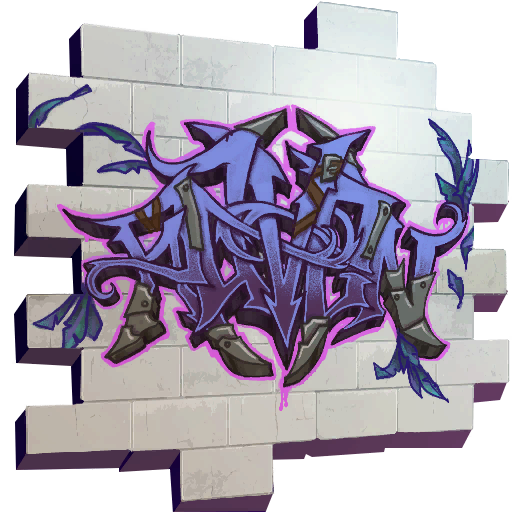 Fortnite Raven spray