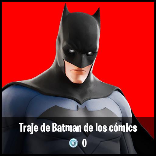 Traje de Batman de los cómics