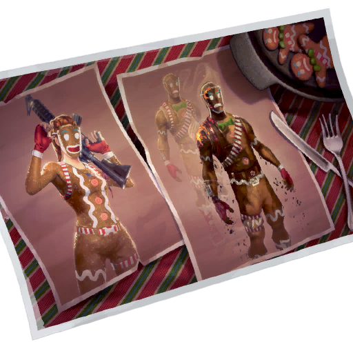 Fortnite Gingerbread loadingscreen