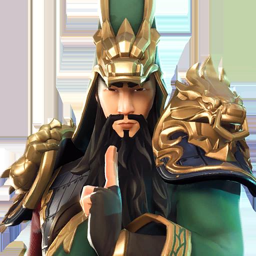 Fortnite Guan Yu outfit