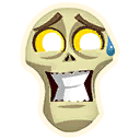 Fortnite Embarrassed emoji