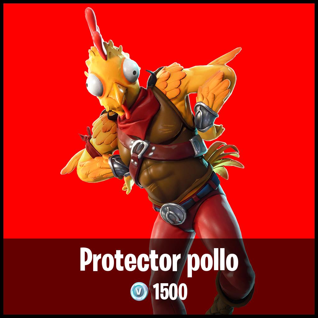 Protector pollo