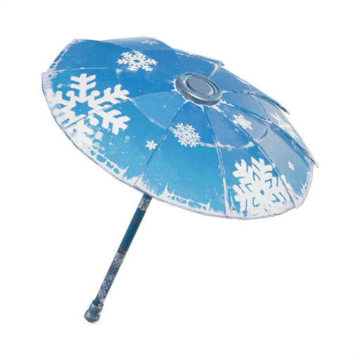 Fortnite Snowflake glider