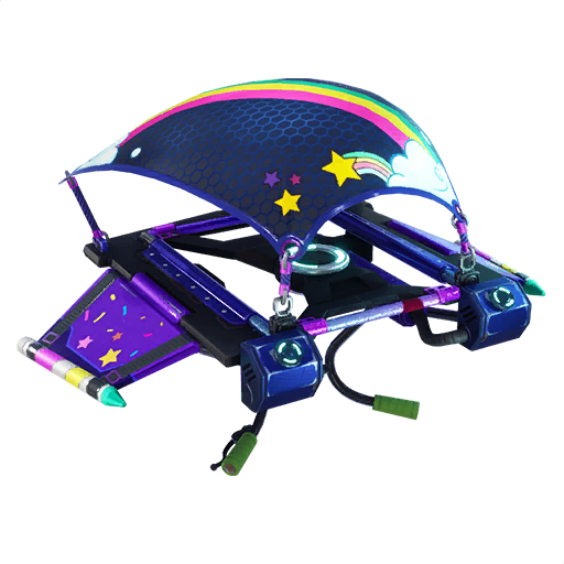Fortnite Rainbow Rider glider