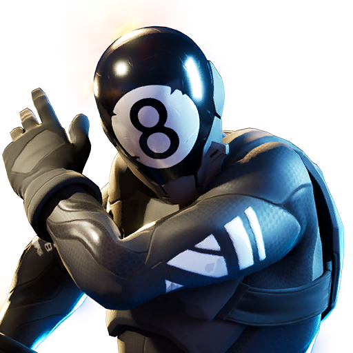 Fortnite 8-Ball vs Scratch Outfit Transparent Image