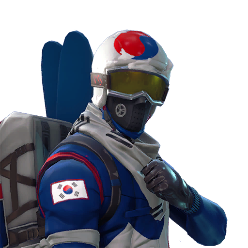 Fortnite Alpine Ace (KOR) outfit
