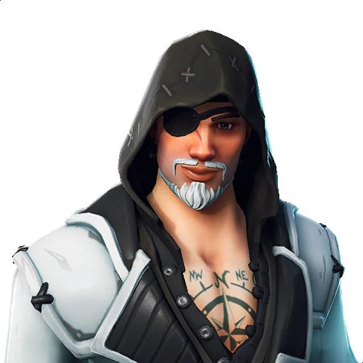 Fortnite Blackheart (White) Outfit Skin