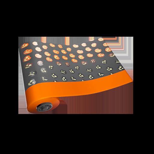 Fortnite Jack-O-Pattern wrap