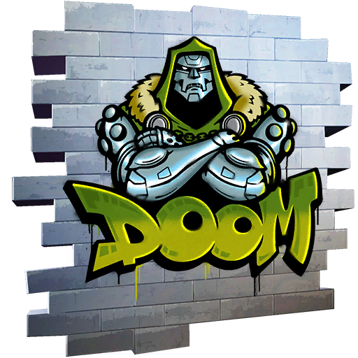 Fortnite Tag of Doom spray