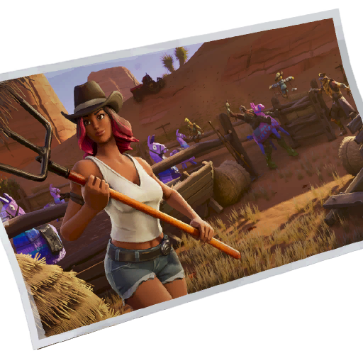 Fortnite Down On The Ranch loadingscreen