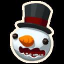 Fortnite Snowman emoji