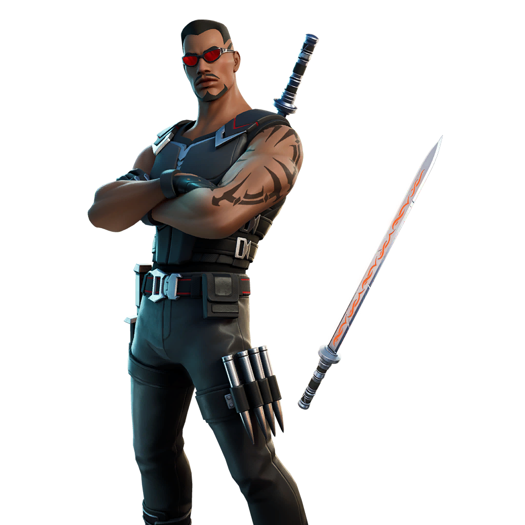 Fortnite Blade Outfit Transparent Image