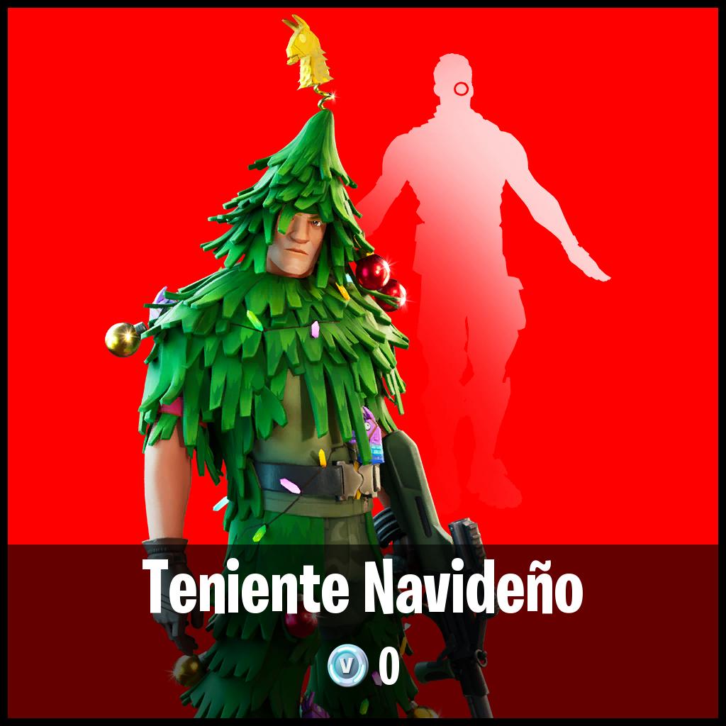 Teniente Navideño
