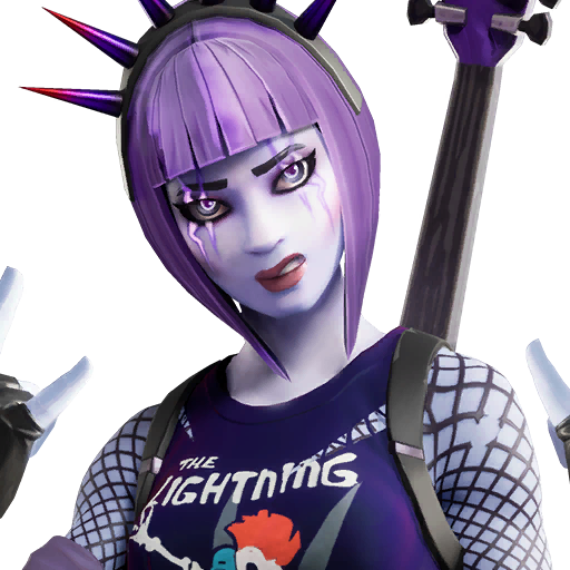 Fortnite Dark Power Chord outfit