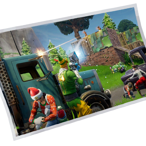 Fortnite Festive Firefight loadingscreen