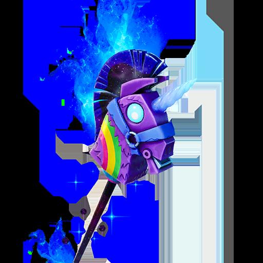 Fortnite Cosmic Llamacorn pickaxe