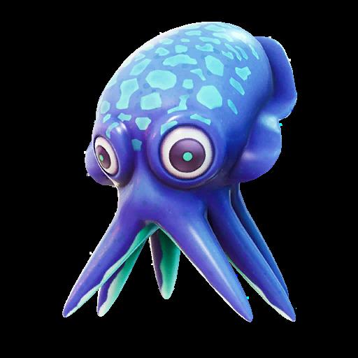 Blue Cuddle Fish Icon