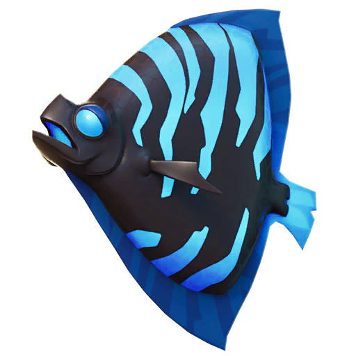 Black and Blue Shield Fish