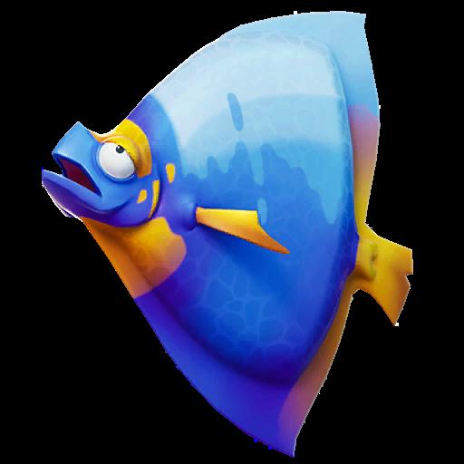 Light Blue Shield Fish