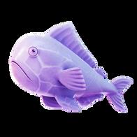 Crystal Zero Fish