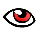 eye-red character style