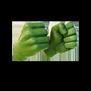 Hulk Smashers harvesting tool style