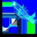 BLUE harvesting tool style