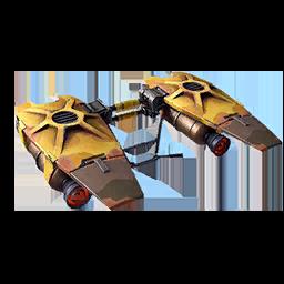 CHACAL paracaidas estilo