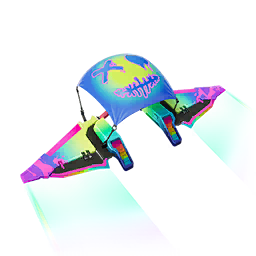 Arcoíris paracaidas estilo
